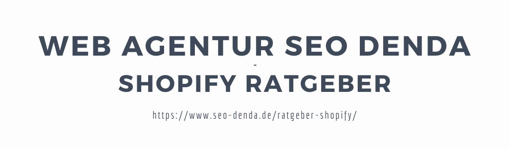 Header Image - Shopify Ratgeber